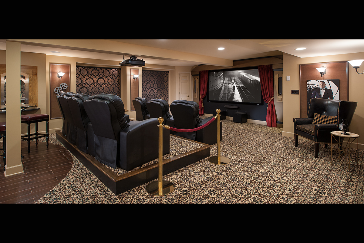 enjoy ultimate movie theater experience by availing custom home theater design services with. Black Bedroom Furniture Sets. Home Design Ideas