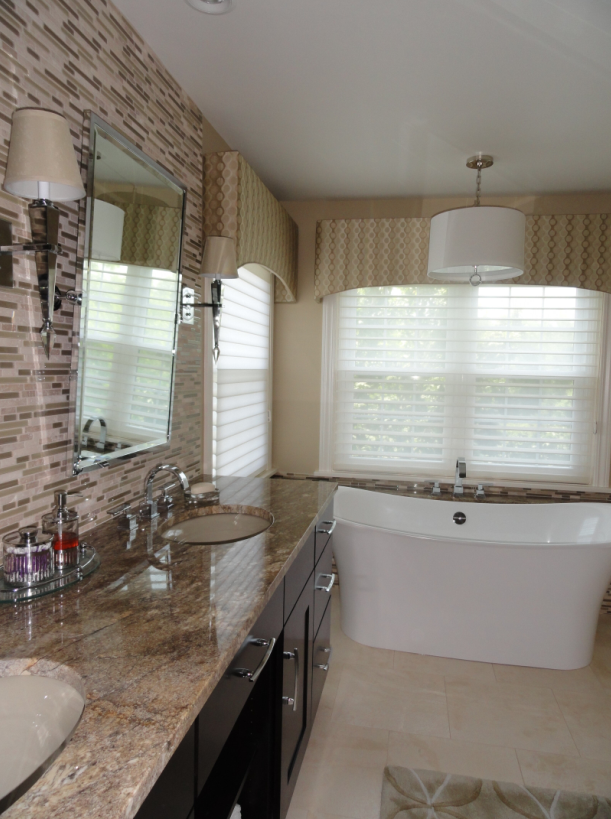 Bathroom Remodel With Freestanding Tub : Best interior designer decorators firms fireplace